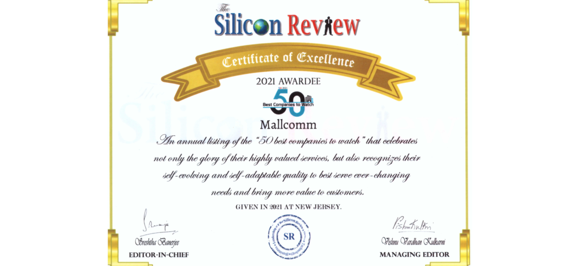 Silicon Review 50 Best Companies To Watch